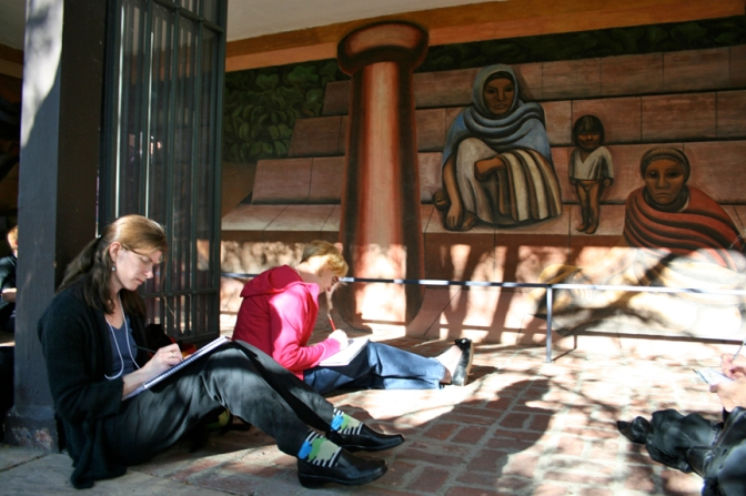 Reading Murals – Telling Stories