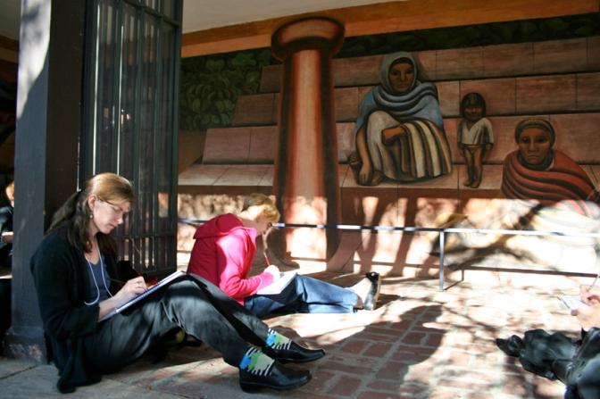 Reading Murals – Telling Stories