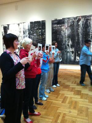 CoLab community of educators exploring learning at the Saint Louis Art Museum in 2012.