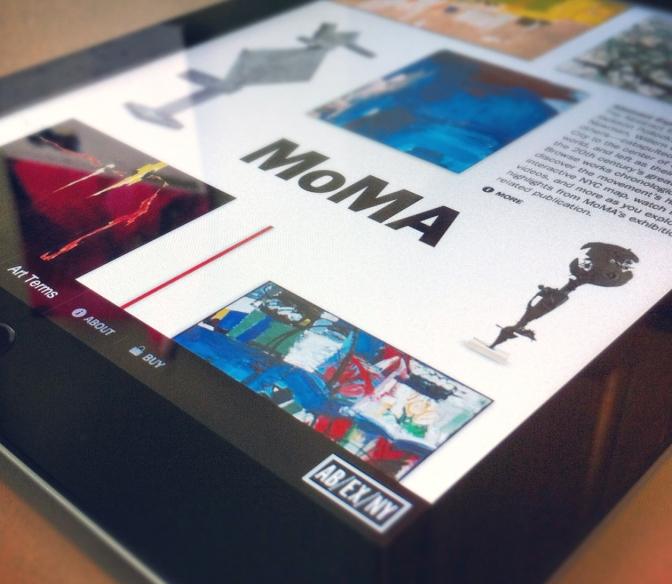 iPad-MoMA