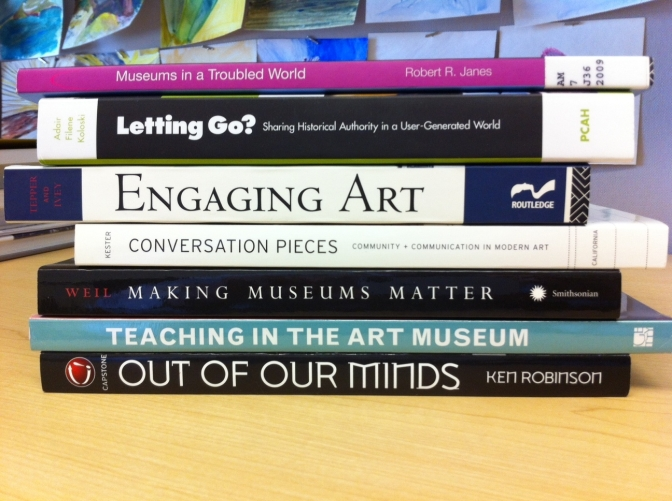 Book Spine Poetry: Museum Edition