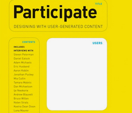 Participate: Designing with User-Generated Content