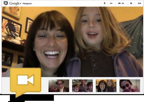 Google Hangouts: Live Video Chatting between Museums & Online Communities