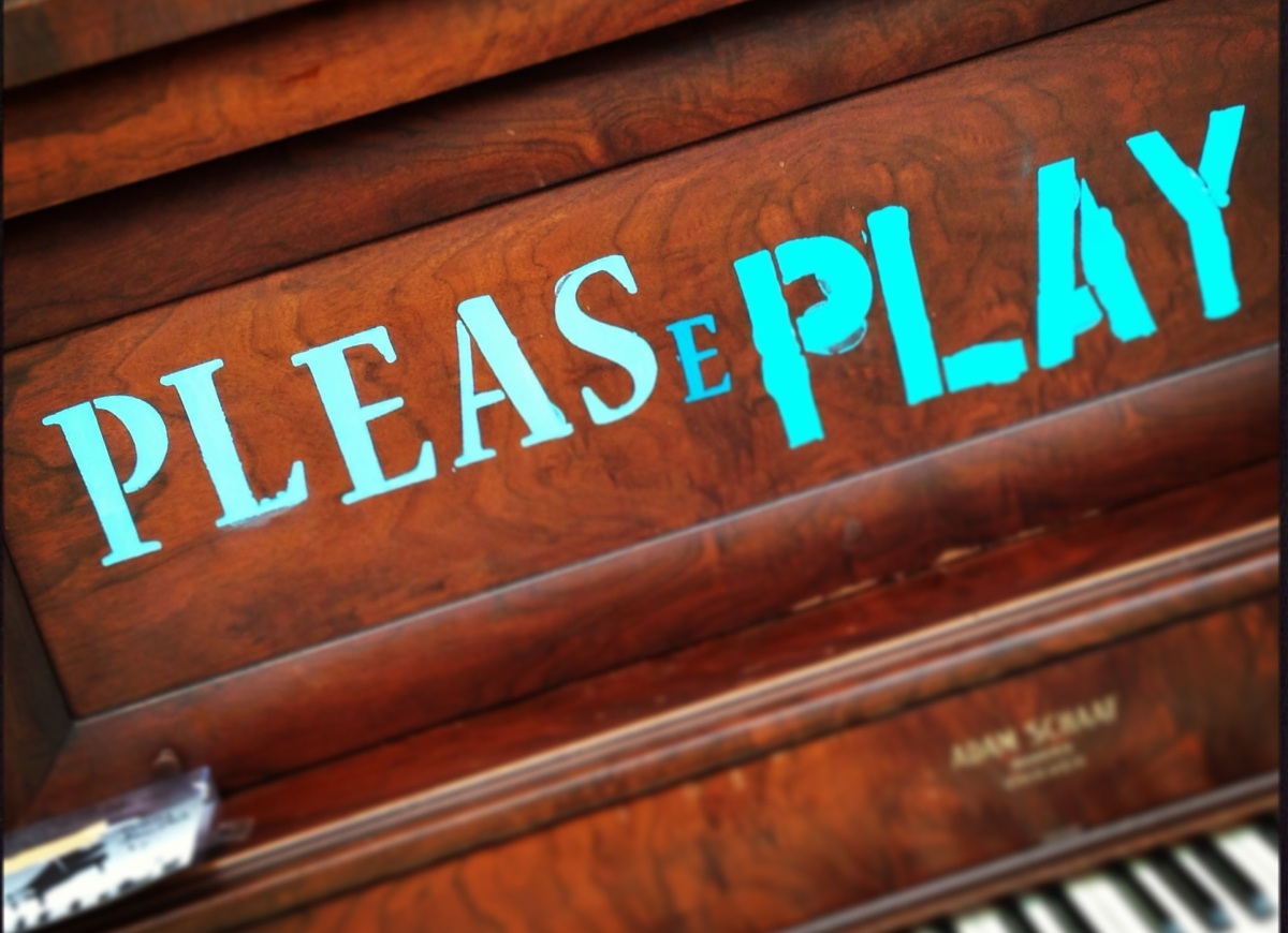 Please Play Museums Amp Random Acts Of Public Music Art