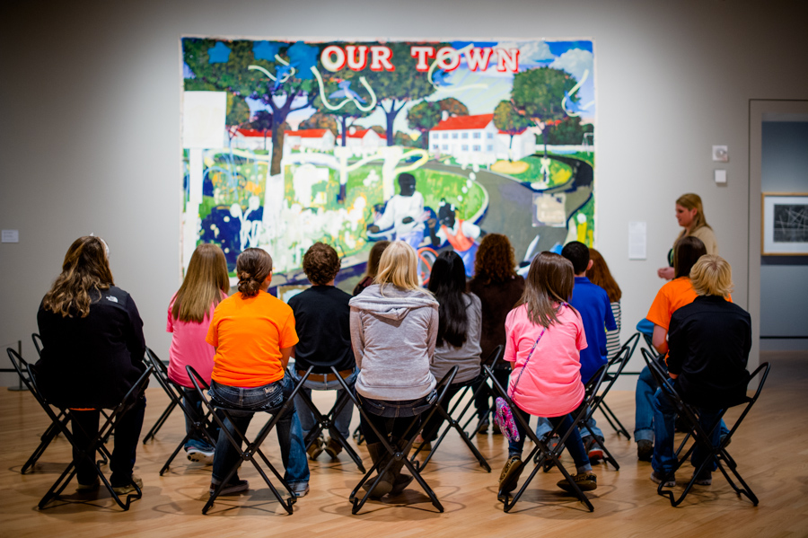 field trips art museum teaching photo by stephen ironside