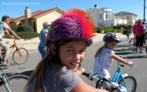 Pop Up Museum turn Living Room as part of Santa Cruz Open Streets. Photo by Karen Kefauver. http://www.santacruzmah.org