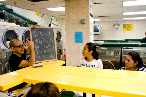 Finding Sanctuary with The Laundromat Project