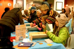 Visitors bond and bridge through participatory experiences at MAH. http://museumtwo.blogspot.com