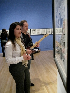 "Machine Project's ""Live Personal Soundtrack"" at the Hammer Museum, May 2010. http://hammer.ucla.edu"