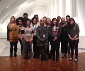 Milwaukee Art Museum Satellite Program group, 2013-14