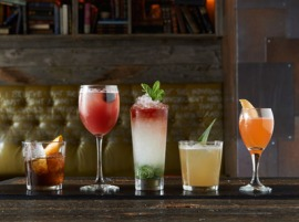 check out these amazing drinks at Craft & Commerce, location for this year's Happy Hour