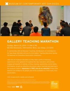 Gallery Teaching Marathon Flyer_2 (1)