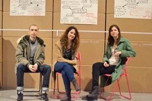 David Lanau, Andrea De Pascual, and Eva Morales (IP-Museums).