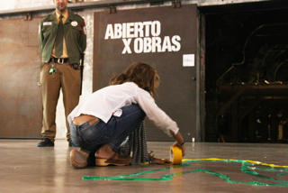 Abierto X Obras -- Leaving a footprint in the museum: visualization of the knowledge production of the participants. Matadero Madrid.