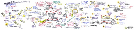 Maketa Wilborn's graphic interpretation of the AMECO meeting. Click on image to see a larger view.