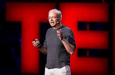 Peter Singer at Ted 2013 - Effective Altruism: Photo: James Duncan Davidson