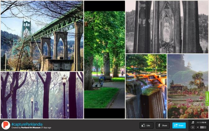 #captureParklandia: A Dive into Social Media & Place-Based Digital Engagement