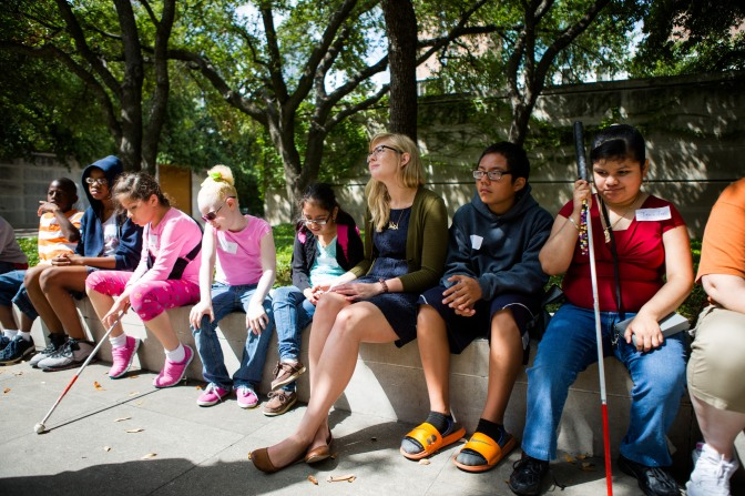 Touch Tours for Students with Vision Impairment