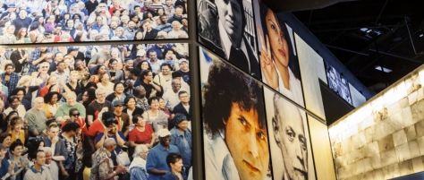 Photographs featured in the museum. (Photo courtesy of The Canadian Museum for Human Rights website)