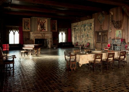 Tapestry Room, Isabella Stewart Gardner Museum, Boston, Photo: Sean Dungan.