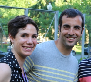 Sara Egan and Michael Baulier