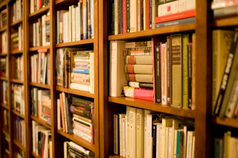 """Library"" by Stewart Butterfield, via Flickr. Creative Commons Attribution 2.0 Generic (CC BY 2.0)"