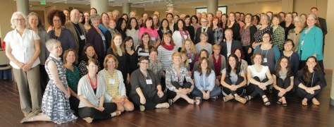 """Photo of full group of museum educators and thought leaders convening in Denver for """"Leading the Future of Museum Education"""" (May 2015)"""