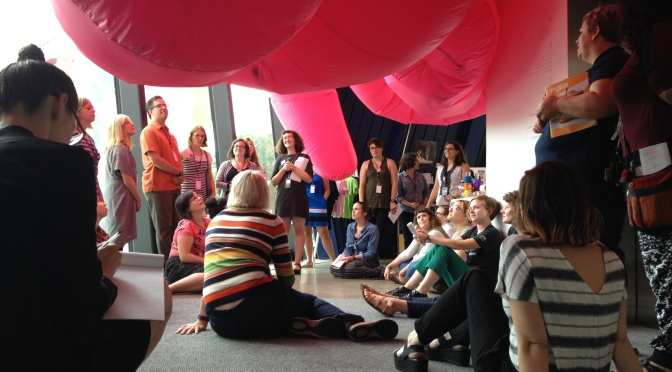 Building Community: Reflections on the Ohio Museum Teaching Mashup