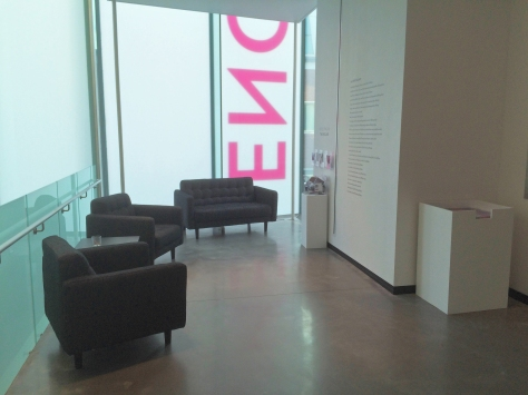 Reflecting on The Enclave interpretive space, Portland Art Museum