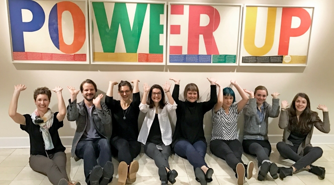 Power Up: A story of how one artwork sparked love & connection