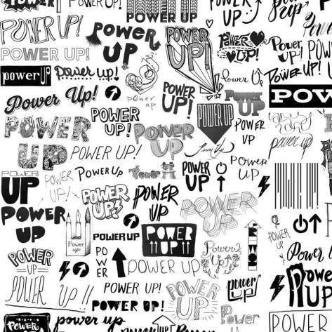 PowerUp-black-white-print