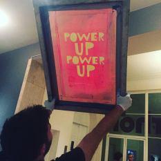 PowerUp-screen