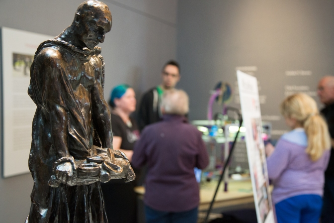 Rodin Remix: 3D Printing and Museum Engagement