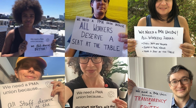 Why Employees at the Philadelphia Museum of Art are Unionizing